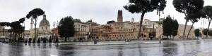 Trasteveren Romijns forum 4-Maart 2014 pano 150,46 x 40,36  cm klein